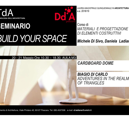 Seminario Build Your Space