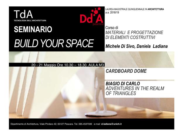 Seminario Build Your Space